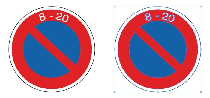 駐車禁止を表す道路標識