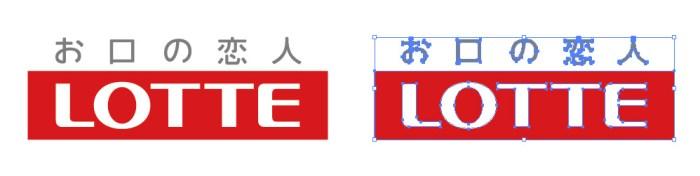 ロッテ(LOTTE)のロゴマーク