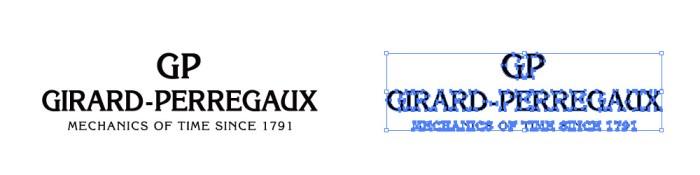 ジラール・ペルゴ(Girard-Perregaux)のロゴマーク