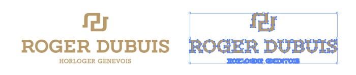 ロジェ・デュブイ(Roger Dubuis)のロゴマーク