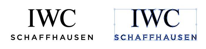 インターナショナル・ウォッチ・カンパニー(IWC)のロゴマーク