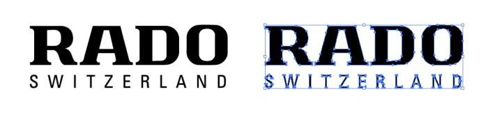 ラドー(RADO)のロゴマーク