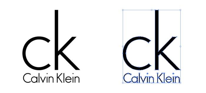 カルバン・クライン(Calvin Klein)のロゴマーク