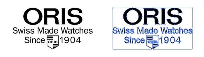 オリス(ORIS)のロゴマーク
