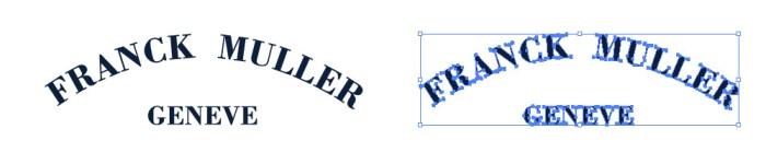 フランク・ミュラー(Franck Muller)のロゴマーク