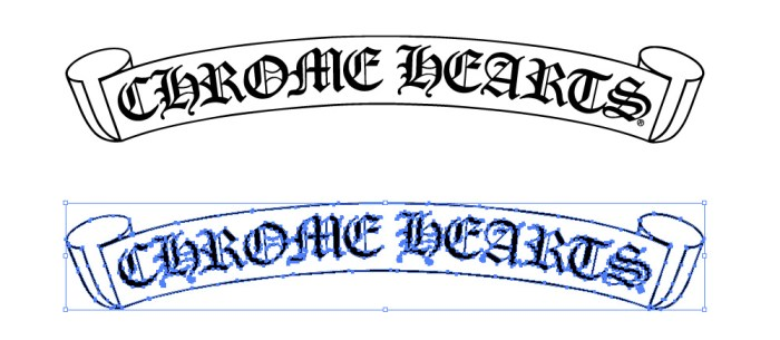 Chrome Hearts(クロムハーツ)のロゴマーク