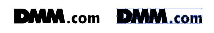 DMM.comのロゴマーク
