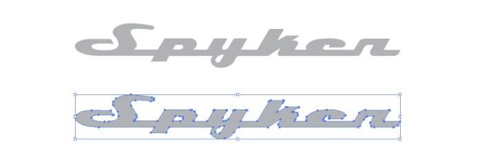 スパイカー・カーズ(Spyker Cars)のロゴマーク