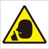 「静かに」館内等での私語や騒音注意を表すアイコン標識マーク