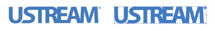 Ustream(ユーストリーム)のロゴマーク