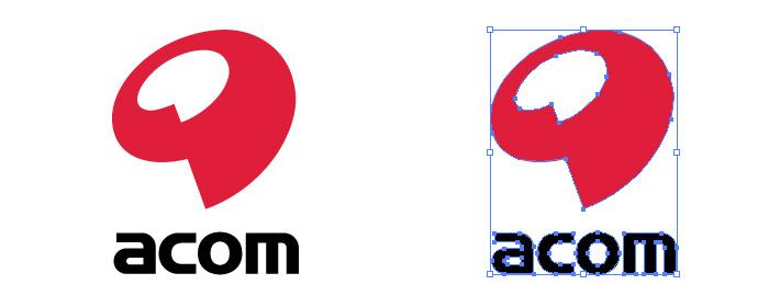 アコム(acom)のロゴマーク