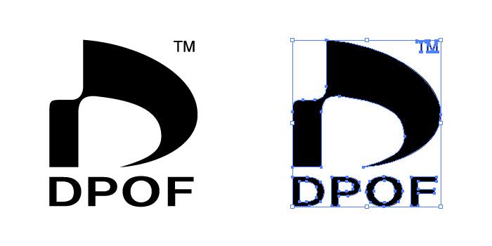 DPOF (Digital Print Order format)のロゴ