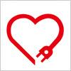 愛情点検マークのロゴアイコン