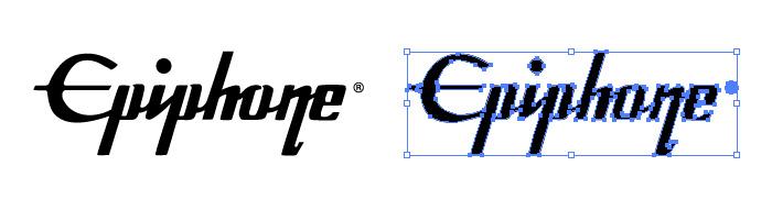 エピフォン(Epiphone)のロゴマーク