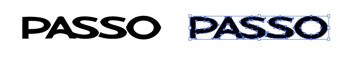 パッソ(PASSO)のロゴマーク