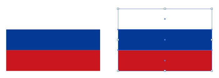 青 国旗 の と 赤