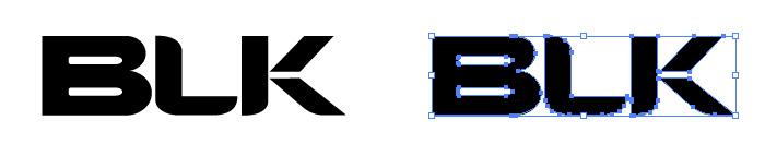BLK(ブラック)のロゴマーク