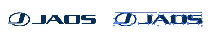 JAOS(ジャオス)のロゴマーク