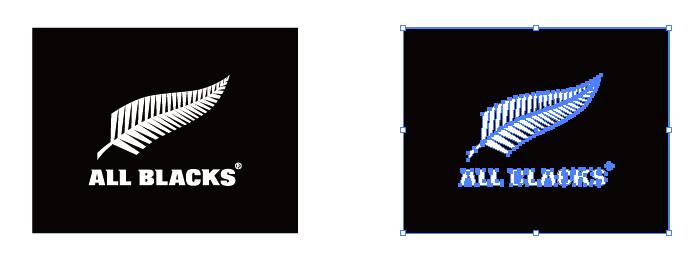 オールブラックス(All Blacks)のロゴマーク
