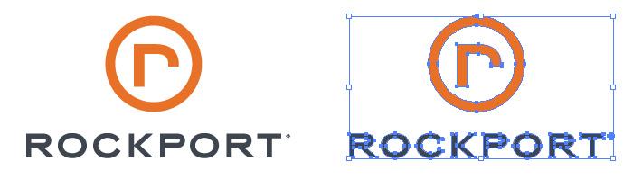 ROCKPORT(ロックポート)のロゴマーク