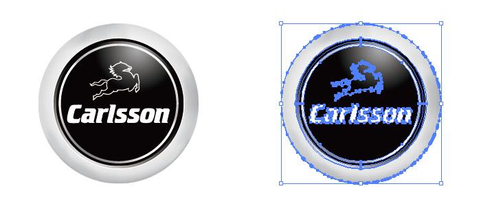 カールソン(Carlsson)のロゴマーク