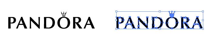 PANDORA(パンドラ)のロゴマーク