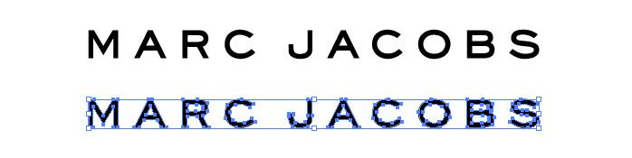 マーク ジェイコブス(Marc Jacobs)のロゴマーク