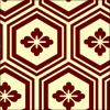 亀甲柄のパターン素材