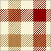 ガンクラブチェック柄のパターン