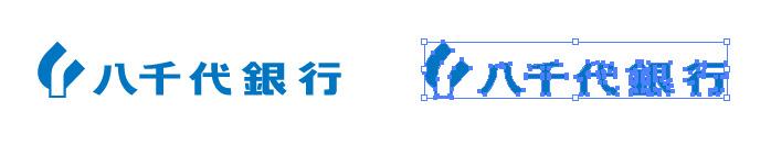 八千代銀行のロゴマーク