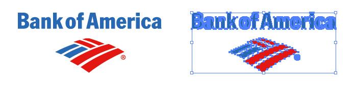 バンク・オブ・アメリカ(Bank of America)のロゴマーク
