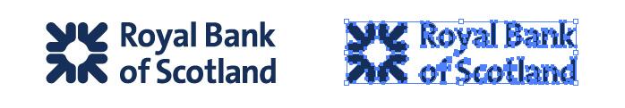 ロイヤルバンク・オブ・スコットランド(Royal Bank of Scotland)のロゴマーク