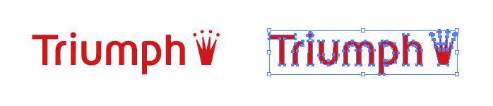 トリンプ(Triumph)のロゴマーク