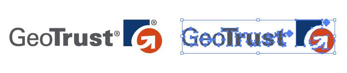 ジオトラスト(GeoTrust)のロゴマーク