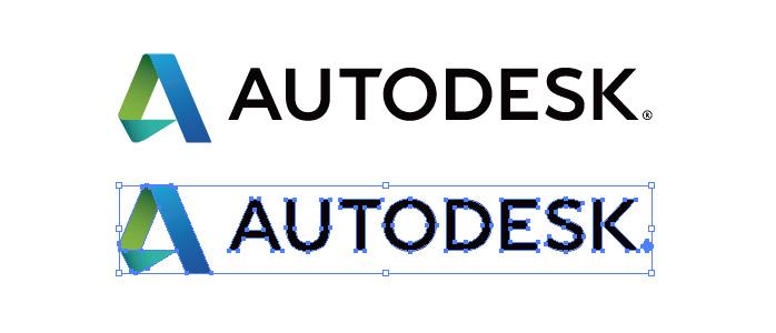 オートデスク(Autodesk)のロゴマーク
