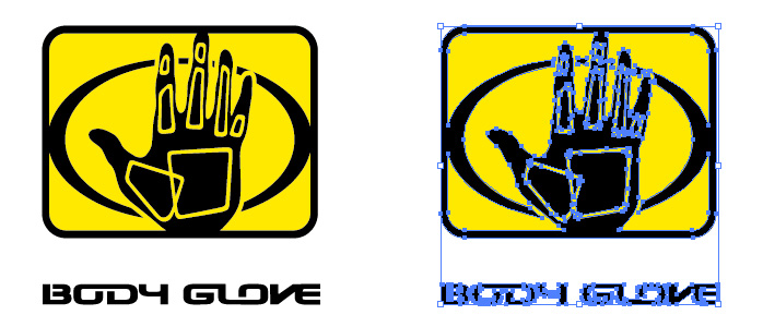 Body Glove(ボディーグローブ)のロゴマーク