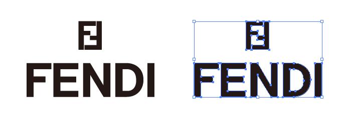フェンディ(FENDI)のロゴマーク