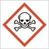 有害な毒性を表すGHSシンボルマーク
