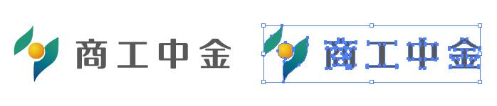 商工組合中央金庫(商工中金)のロゴマーク