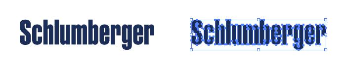 シュルンベルジェ(Schlumberger)のロゴマーク