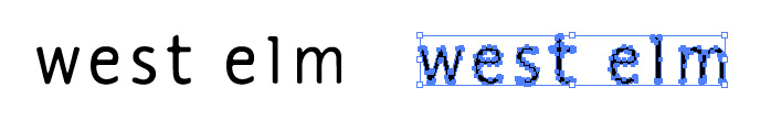west elm(ウエストエルム)のロゴマーク