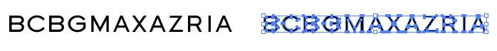 BCBG MAXAZRIA(ビーシービージーマックスアズリア)のロゴマーク