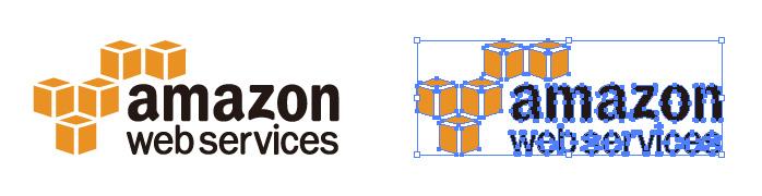 アマゾン ウェブ サービス(AWS) Amazon Web Services ロゴマーク