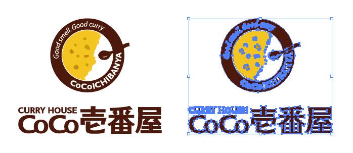 カレーハウスCoCo壱番屋 ココイチ ロゴマーク
