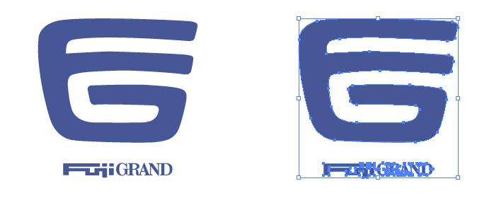 フジグランのロゴマーク