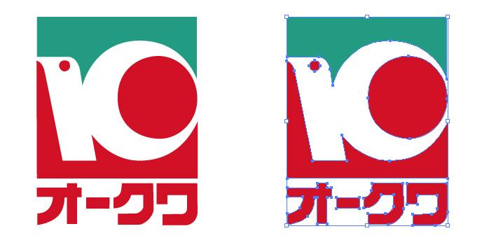 オークワのロゴマーク