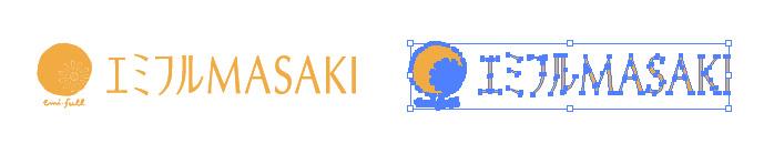 エミフルMASAKIのロゴマーク