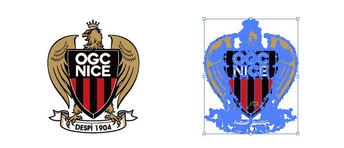 OGCニースのロゴマーク