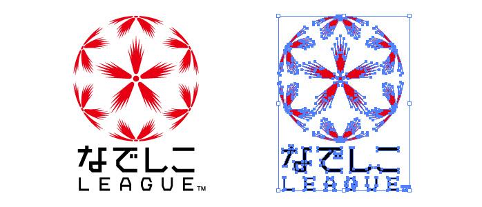なでしこリーグのロゴマーク