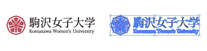 駒沢女子大学のロゴマーク